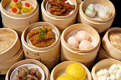 Chinese Dimsum Set Royalty Free Stock Photos