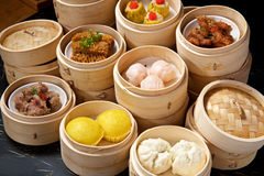 Chinese Dimsum Set Royalty Free Stock Image