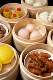 Chinese Dimsum Set Royalty Free Stock Images