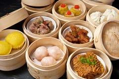 Chinese Dimsum Set Stock Photography
