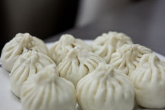 Chinese dish - Baozi. Steamed buns, called Baozi in Chinese, are a very popular asian. They can be stuffed with various ingredients Stock Photography