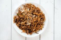 Chinese dish Char Kuey Teow Royalty Free Stock Photo