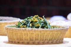 Chinese dish : mini cucumbers Royalty Free Stock Image