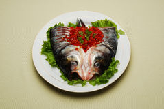 Chinese Dishes Chilli Fish Head Stock Images