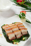 Chinese dishes, roast pork Royalty Free Stock Image