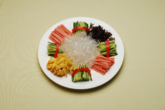 Chinese Dishes Some Kinds Of Cold Mixed Meat Royalty Free Stock Images
