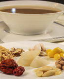 Chinese dishes.-02. Chinese traditional health preserving soup - Bazhen Decoction Stock Photos