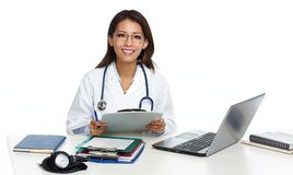 Chinese doctor woman. Stock Photos