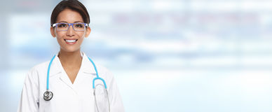 Chinese doctor woman. Royalty Free Stock Image