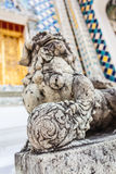 Chinese Dog sculpture Stock Photo