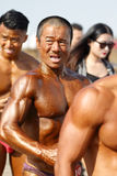 Chinese domineering male bodybuilder Stock Photography