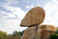 Chinese dongshandao rock Royalty Free Stock Images
