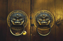 Chinese Door. The classic and old style of Chinese Door stock image