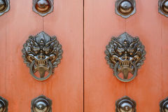 Chinese door Royalty Free Stock Photography