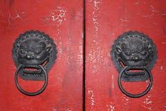 Chinese door stock photography