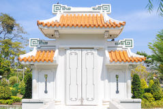 Chinese Gate Royalty Free Stock Photo