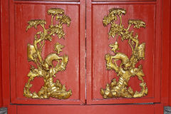 Chinese door classic Royalty Free Stock Image