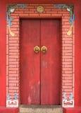 Chinese door. Stock Image