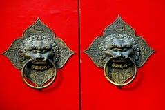Chinese Door Handle Stock Images