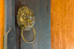 Chinese door knob style Royalty Free Stock Photo