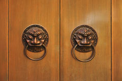 Chinese Door Knocker Royalty Free Stock Images