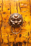 Chinese door knocker Royalty Free Stock Photography