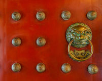 Chinese door knockers Stock Image