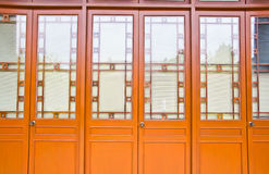 Chinese door style Stock Photo