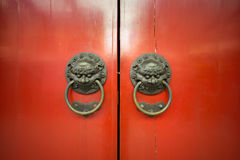 Chinese door style Stock Photography