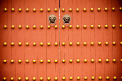 Chinese  door Stock Photography