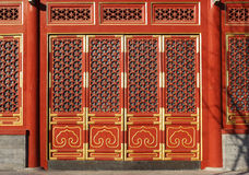 Chinese Doors Stock Photos