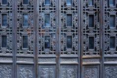 Chinese Doors Stock Photo