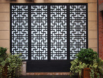 Chinese Doors And Window Royalty Free Stock Images