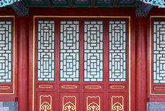Chinese Doors And Window Royalty Free Stock Image