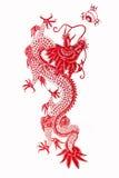 Chinese draak 2012 Stock Foto's