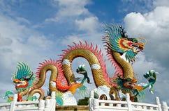 Chinese draak stock foto's