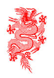 Chinese draak Royalty-vrije Stock Afbeelding