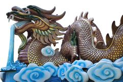 Chinese Dragon. In Suphanburi Thailand Stock Photography