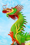 Chinese dragon. At thailand  in on (day) bright sky Stock Images