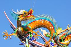 A chinese dragon Royalty Free Stock Photo