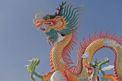 Chinese dragon. Royalty Free Stock Photos