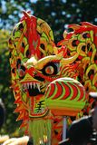 Chinese Dragon. In street performance Stock Image