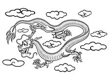 Chinese dragon Stock Photo