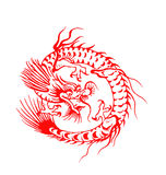 Chinese dragon Stock Image