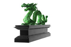 Chinese Dragon. Royalty Free Stock Photo