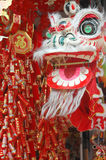 Chinese Dragon And New Year Decorations