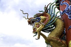 Chinese dragon. Is an auspicious animal of the Chinese Royalty Free Stock Images
