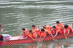 Chinese Dragon Boat Festival Stock Photography