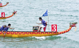 Chinese Dragon Boat Race Royalty Free Stock Photography