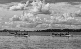 Chinese Dragon Boat Race Stock Images